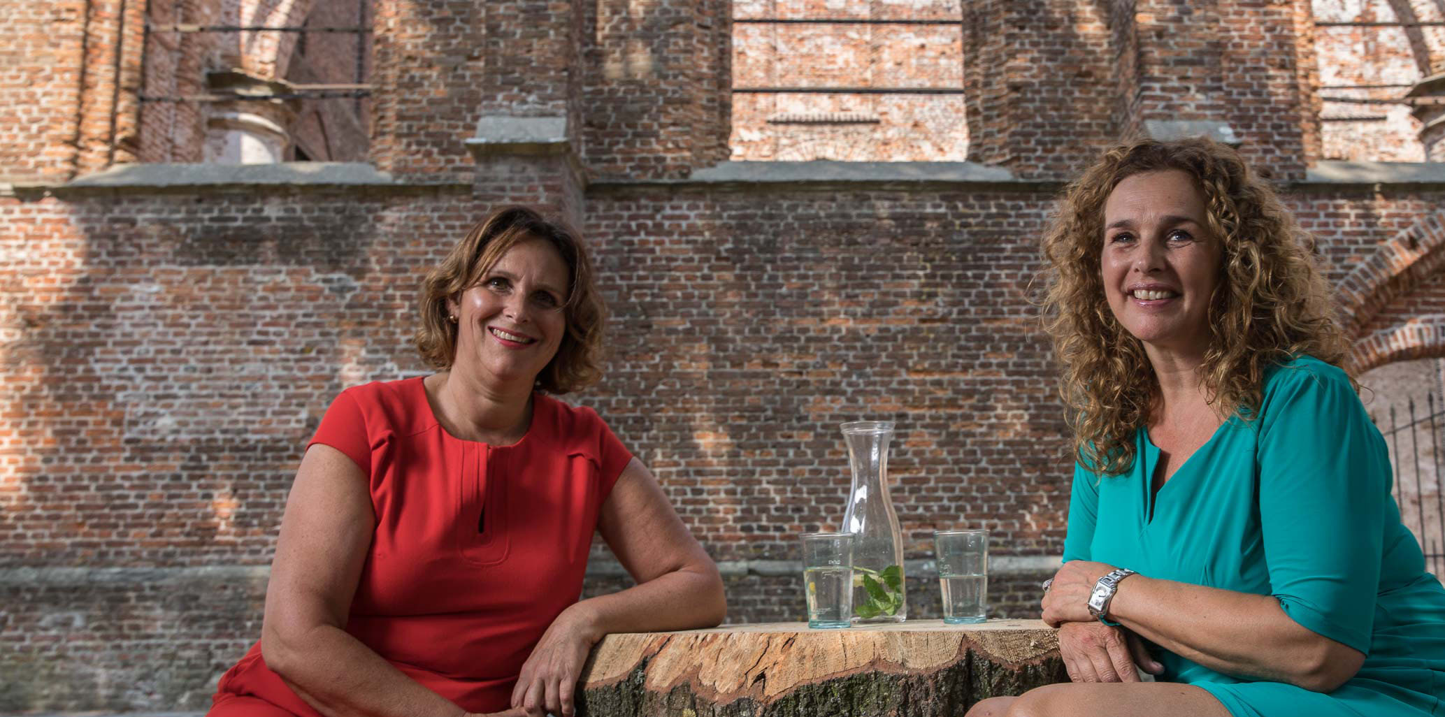 Foto's / Katinka en Yvonne stam